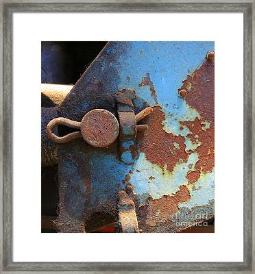 Weathered And Aged Framed Print by Patricia Januszkiewicz