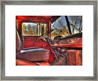 Weathered And Worn  Framed Print by Thomas Young