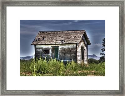 Weathered And Worn Well  Framed Print by Saija  Lehtonen