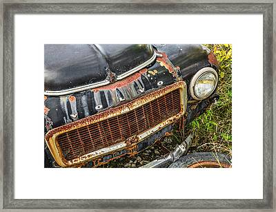 Weathered Framed Print by Dale Kincaid