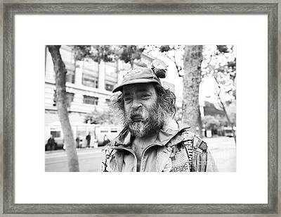 Weathered Framed Print by David Bearden