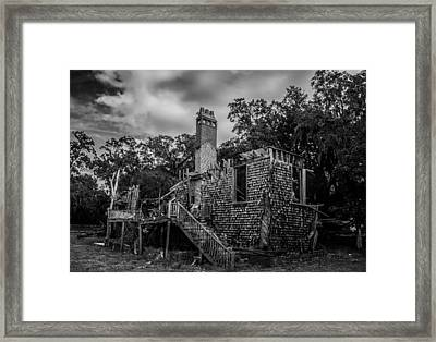 Weathered Home Framed Print