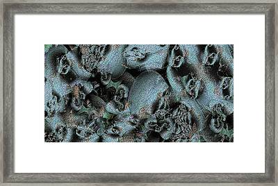 Weathered Framed Print by Ron Bissett