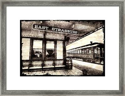 Weathered Rr Station Framed Print by Paul W Faust -  Impressions of Light