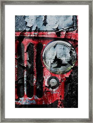 Weathered Willys Framed Print by Luke Moore