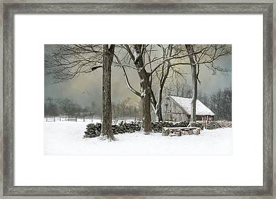 Weathering Framed Print by Robin-Lee Vieira