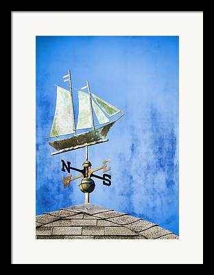 Wind Direction Framed Prints