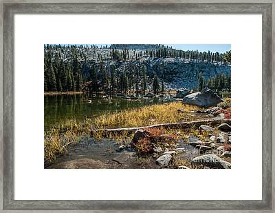 Weaver Lake- 1-7692 Framed Print