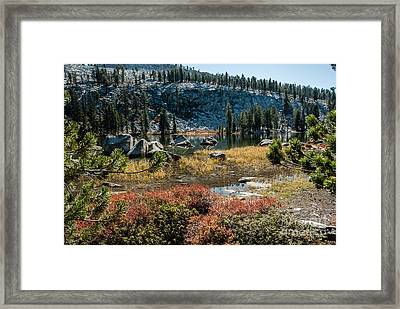Weaver Lake- 1-7695 Framed Print