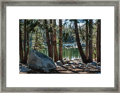 Weaver Lake  1-7700 Framed Print
