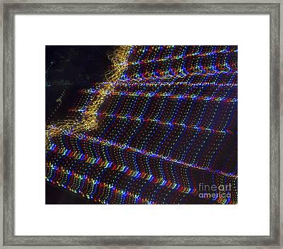 Weaving Of Light Framed Print