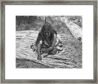Weaving Tules Into Walls Framed Print