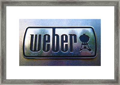 Weber Framed Print