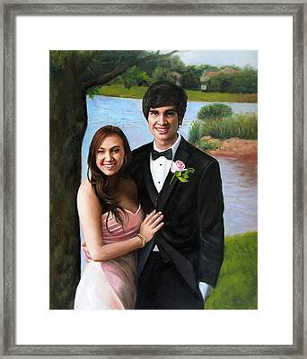 Wedding -2 Framed Print by Anny Huang