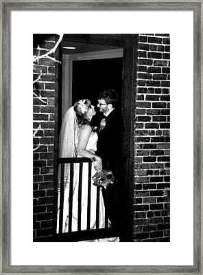 Wedding Framed Print by Brett Kurtz