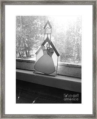 Wedding Day Framed Print by Barbara Bardzik