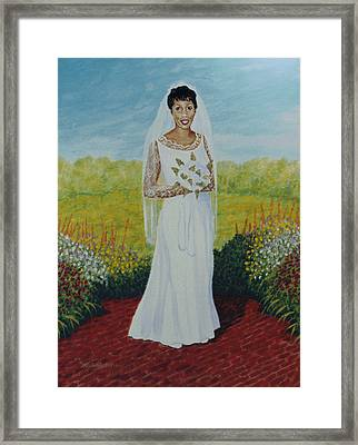 Wedding Day Framed Print by Stacy C Bottoms