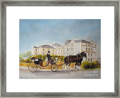 Wedding Imperial Hotel Hythe Framed Print
