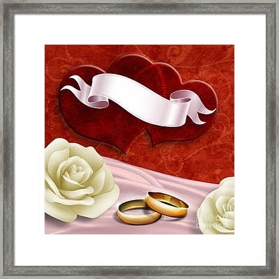 Wedding Memories V2 Passion Framed Print by Bedros Awak