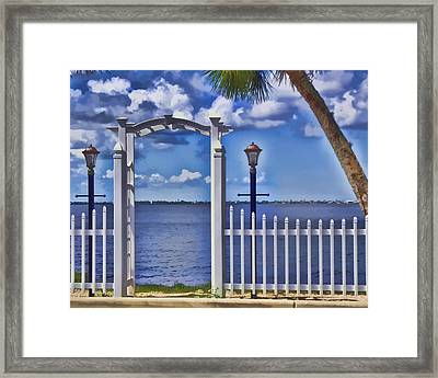 Wedding Pagoda Framed Print