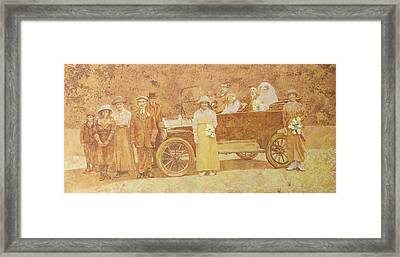 Wedding Party  Framed Print by Clive Metcalfe