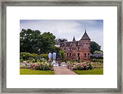 Wedding Setting In De Haar Castle. Utrecht Framed Print by Jenny Rainbow