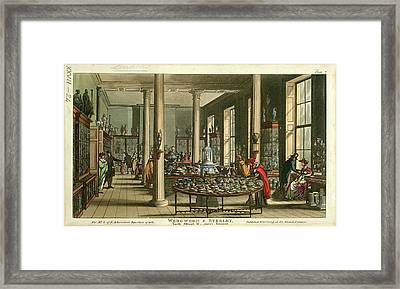 Wedgwood And Byerley Framed Print by British Library