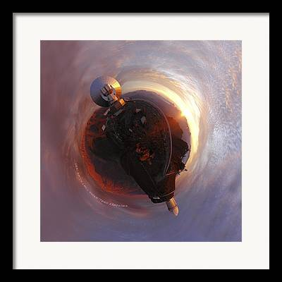 Planetoid Framed Prints