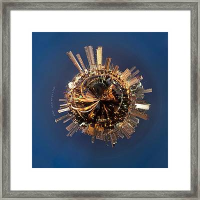 Wee Miami Planet Framed Print by Nikki Marie Smith