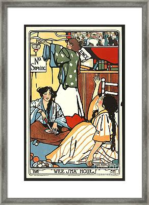 Wee Small Hours 1909 Framed Print by Padre Art