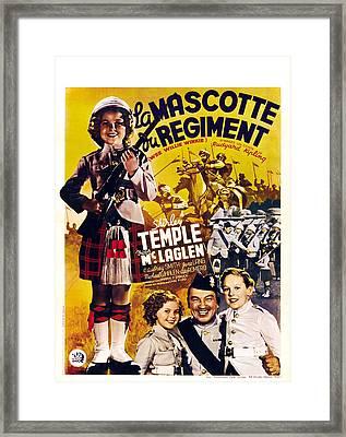 Wee Willie Winkie, Aka La Mascotte Du Framed Print by Everett