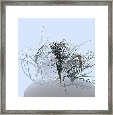Weed Garden Framed Print