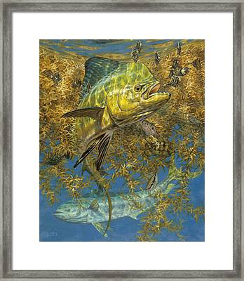 Weedline Buffet Framed Print