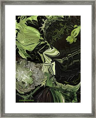 Weeds The Gardener's Nightmare Framed Print