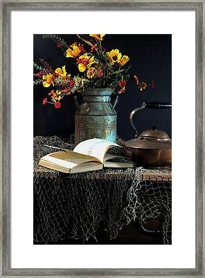 Week Days Framed Print by Diana Angstadt