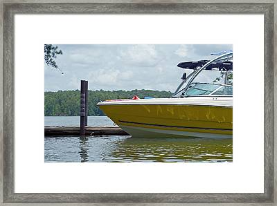Framed Print featuring the photograph Weekend Fun by Charles Beeler