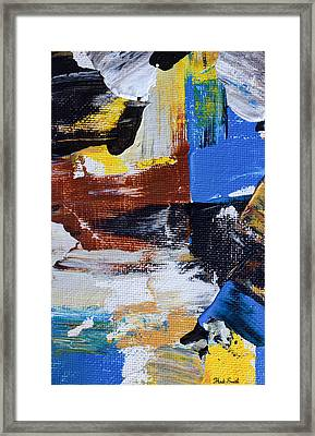 Framed Print featuring the painting Weekend Retreat by Heidi Smith