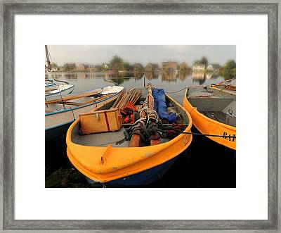 Framed Print featuring the photograph Weekend Warrior by Laura Ragland