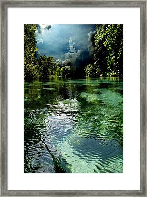 Weekie Sky Framed Print