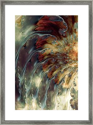 Weep Framed Print by Kim Redd