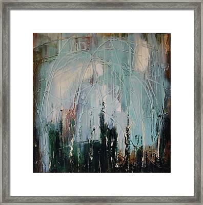Weep Framed Print by Lauren Petit