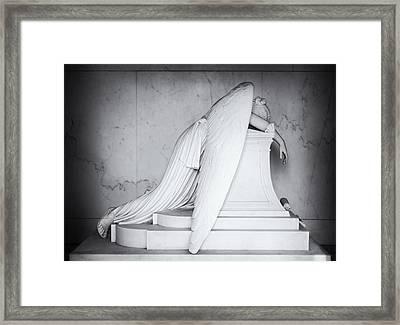 Weeping Angel 1 Framed Print by John Gusky