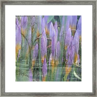 Weeping Flowers Framed Print by PainterArtist FIN