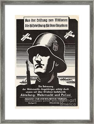 Wehrmacht Framed Print