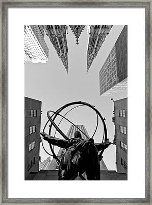 Weight Of The World Framed Print by Michael Dorn