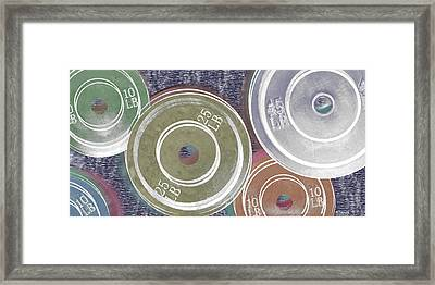 Weight Plates Framed Print