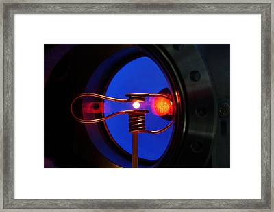 Weightless Molten Metal Framed Print by Science Source