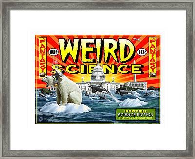 Weird Science Framed Print by Scott Ross