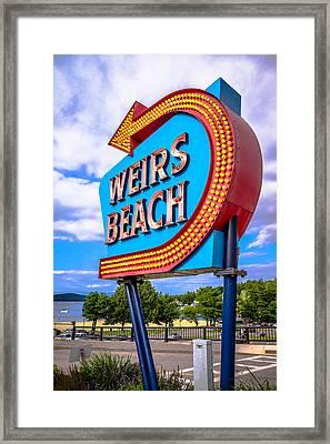 Weirs Beach Framed Print