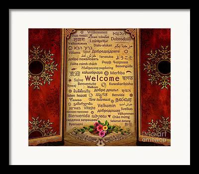 Beautiful Image Mixed Media Framed Prints